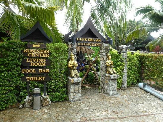 Boomerang Village Resort: Entrada comedor