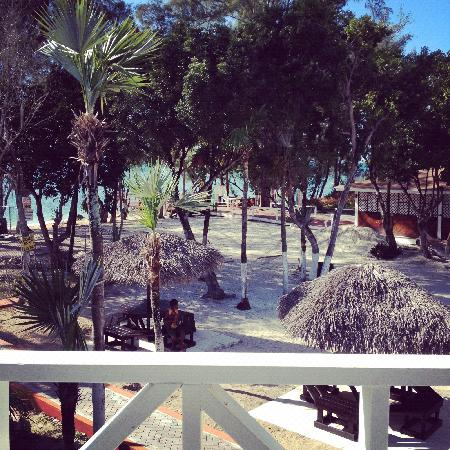 Coral Harbour Beach House and Villas : View from room 31