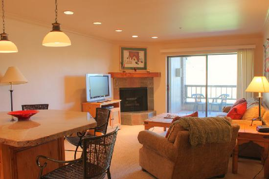 The Loft at the Mountain Village: Living Room