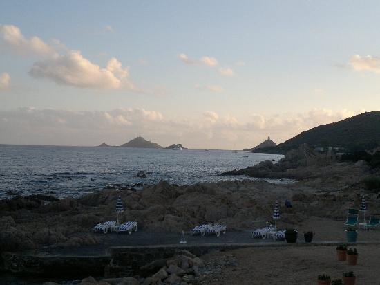 Hotel Dolce Vita : Les îles sanguinaires vues de l'hôtel