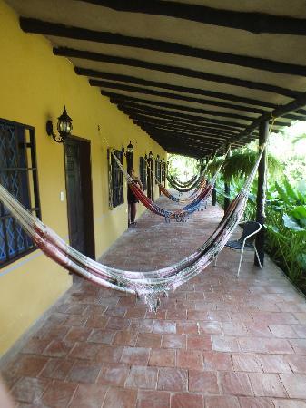 Hotel Posada La Bokaina: Hammocks