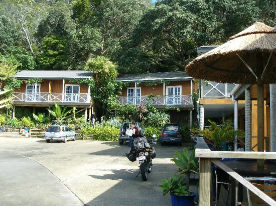 Anchor Lodge Coromandel: Filmreife Ansicht der Anchor Lodge