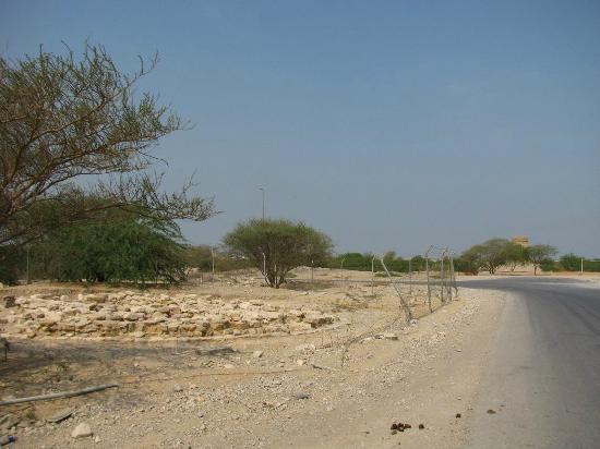 Shimal : großes Grab aus der Umm-an-Nar - Zeit an der Archeology Road