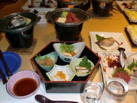 Green Hotel Sangane: 夕食