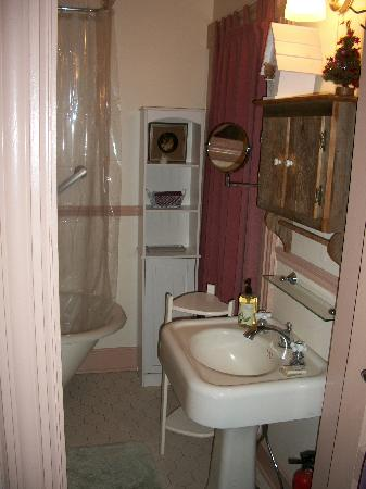 27 Blake Street Bed & Breakfast: bathroom view