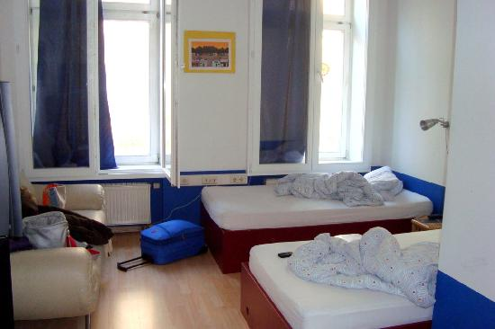 Hostel Absteige: la stanza