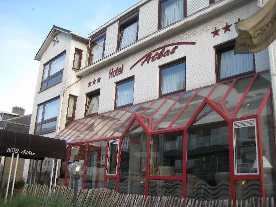 Hotel Atlas : Atlas Hotel Zeebrugge - Front