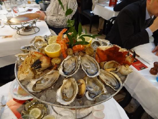 Brasserie Bofinger : plateau appelé Bofinger