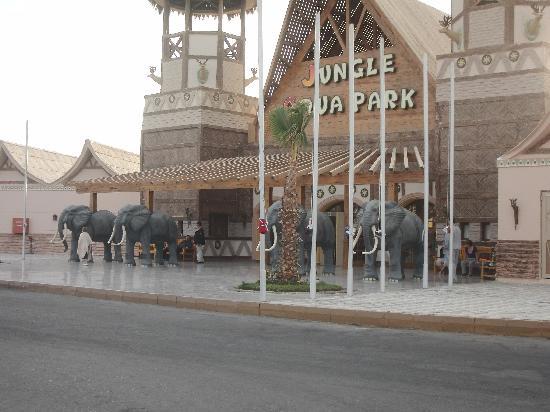 Jungle Aqua Park: det gamle indgangsparti