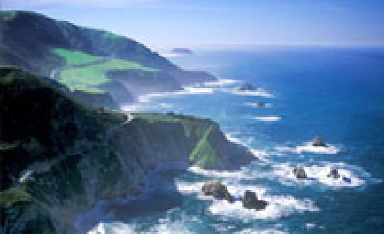 Specialized Helicopters: Big Sur California from helicopter