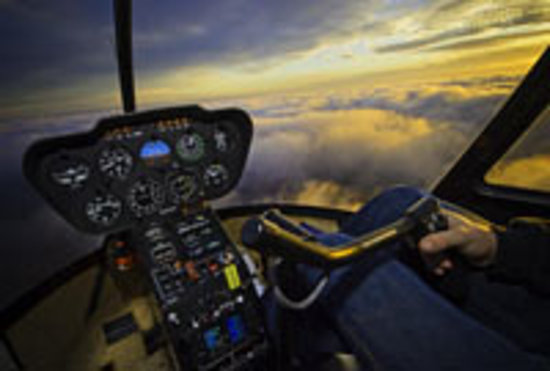 Specialized Helicopters: Sunset helicopter tour