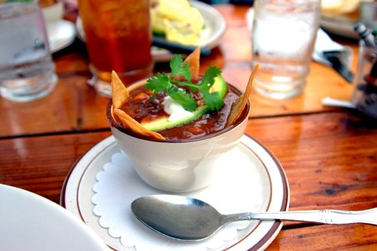 Fire Sign Cafe: tortilla soup...lovely