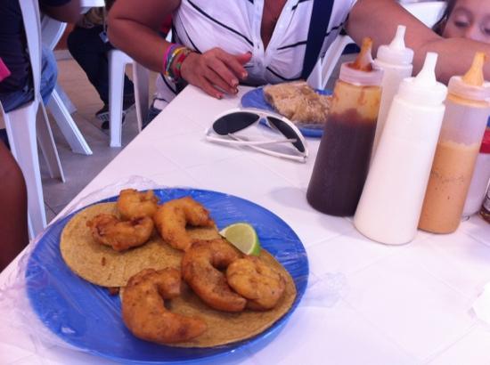 Los de Pescado: buena la comida pero muy lento el servicio