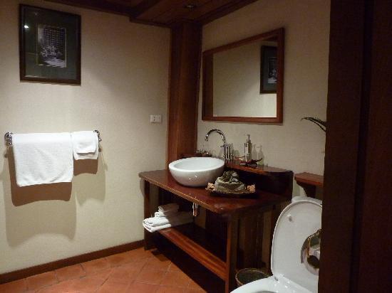 Villa Maydou : La salle de bain