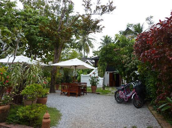 Villa Maydou : L'entrée de l'hôtel