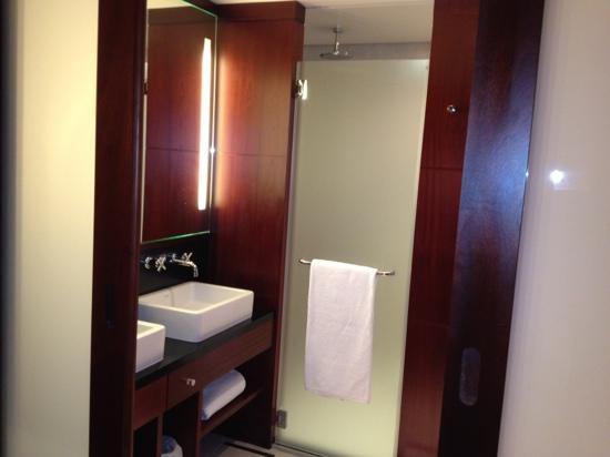 Hôtel LE MAURITIA : salle de bain !