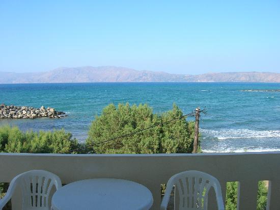 Aphrodite Beach Hotel: vue depuis la chambre