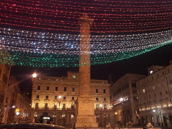 Aim Limo Rome Tours : Marcus Aurelius Column