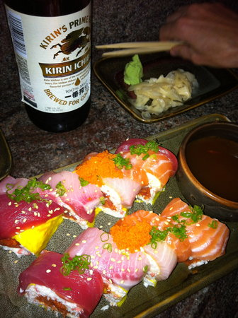 Can A Sushi Roll Get Any Bigger Review Of Station Sushi Solana Beach Ca Tripadvisor Station sushi solana beach ca. tripadvisor