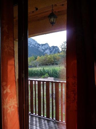 Le Jardin des Gorges: Vista desde la habitación.