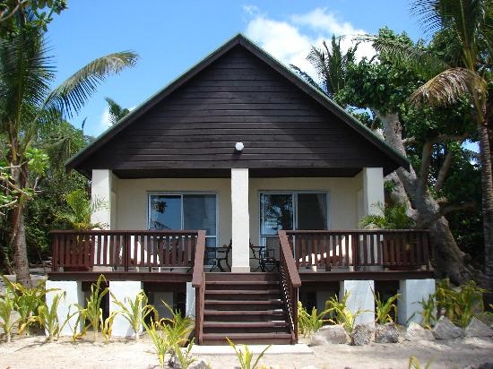 ‪‪Ha'atafu Beach Resort‬: Premium Beachfront Fale‬