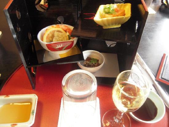 Shunkei Roman Gimpaso : 夕食の前菜