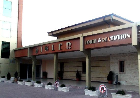 Dinler Hotels - Nevsehir: Hotel entrance