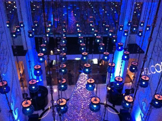 Spice Market: at entrance to restaurant - mezzanine level of W hotel - facing main entrance