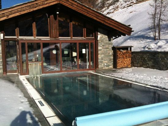 Riffelalp Resort 2222 m: Aussenpool