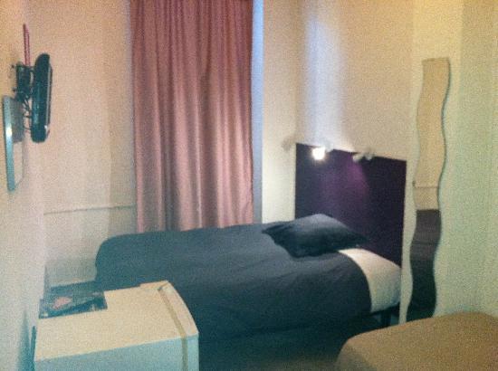 Hotel Lutia: exemple de chambre