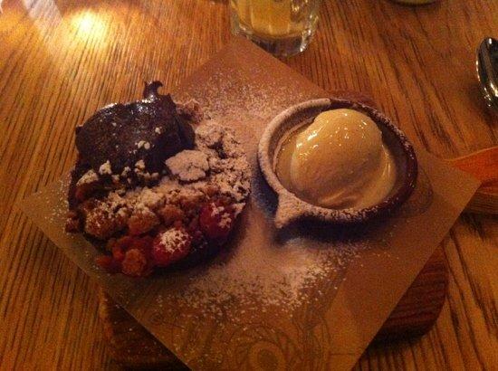 Jamie's Italian: brownie