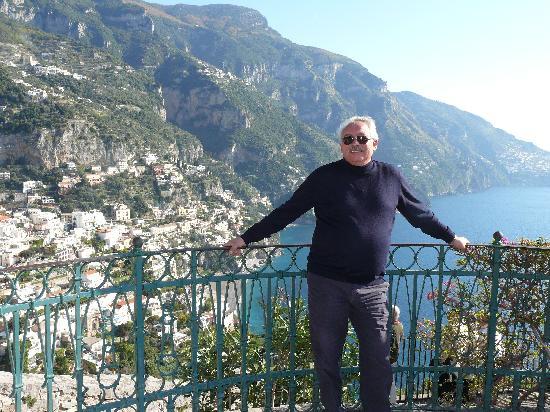 Easitalytours: Phillipe at Positano