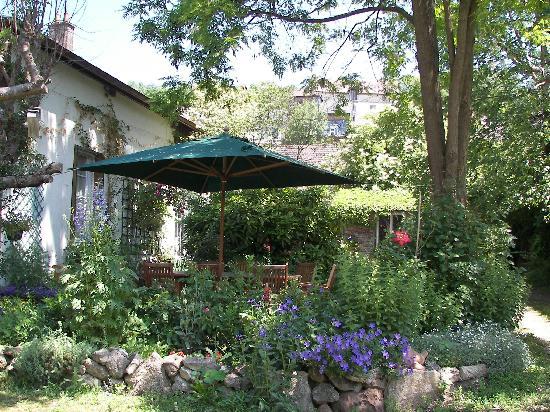 Le Clos Mimaut: La terrasse