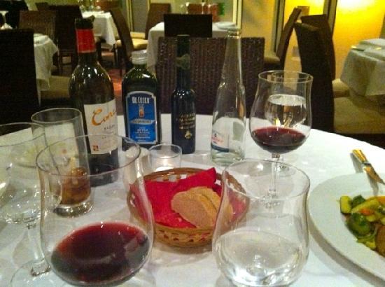 Caruso Restaurant : La mesa