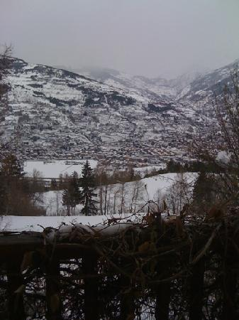 Il Giardino dell'Artemisia: la vista dalla camera:)