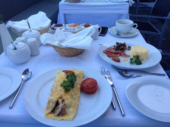 O on Kloof Boutique Hotel & Spa : Breakfast, YUM!