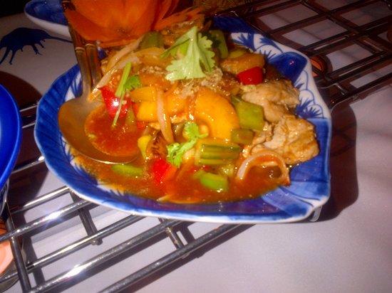 Banthai Wareethip: sweet & sour veal