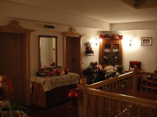 l'interno dell'hotel Zimmerbräu