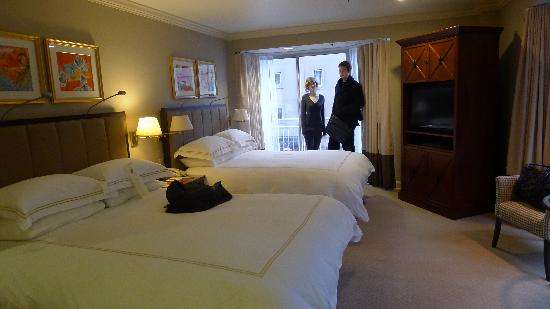 Inn at the Market: Our double room with out standing views