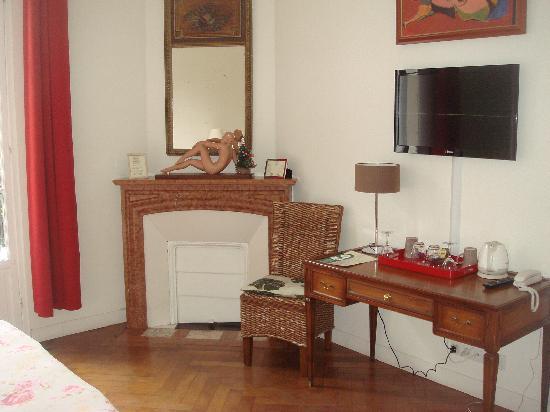 Hotel Villa les Cygnes : Double room terrace