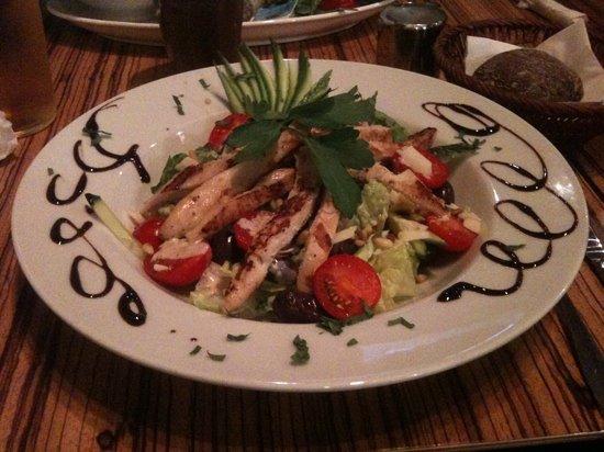 Paludan's Book & Cafe: caesar salad