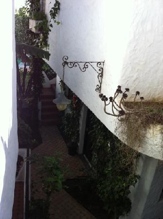 Martil, Marokko: jardin
