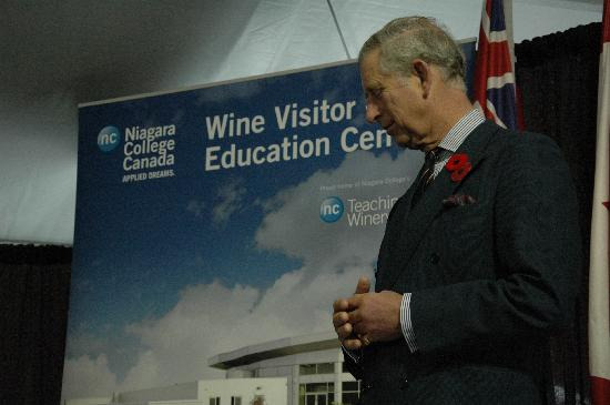 Niagara College Teaching Winery: The opening of our building