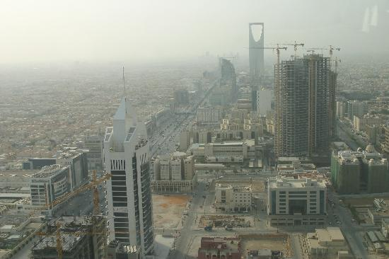 Centro Al Faisaliyah: Kingdom Tower from Faisaliyah Tower