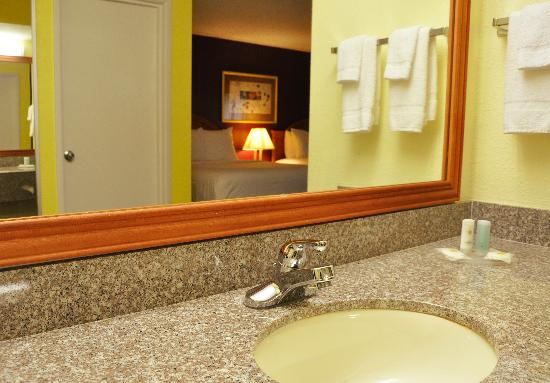 Comfort Inn & Suites Airport: New Vanity