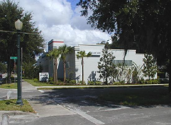 Mount Dora Museum Of Speed: Streetside Approach To Museum Building