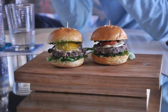 WORD OF MOUTH: mini hamburgers