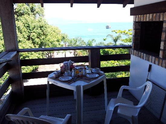 Hotel Maratea Mare: Breakfast on the balcony
