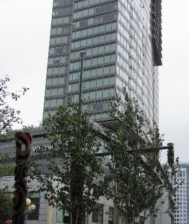 The Westin Bellevue: one view of the hotel