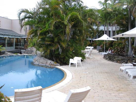 The Executive Inn: pool area
